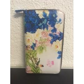 Okalosa Lederportemonnaie gross - Flowers